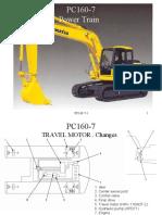 PC160 Power Train