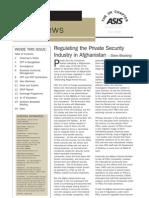 ASIS Newsletter UK Chapter Summer 2008