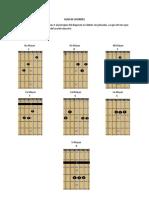 Guía de acordes 11 Octubre - FINAL - Jose Gaviria