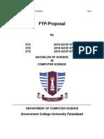 Fyp Proposal 111