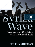 SHEEHAN HELENA the Syriza Wave Surging and Crashing With the Greek Left 2016