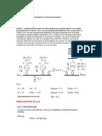 Ejercicio Fallas - Sistemas Eléctricos de Potencia