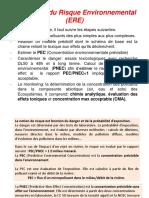 Evaluation Du Risque Environnemental (ERE)