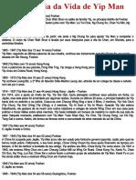 Crônica da Vida de Grão-Mestre Ip Man