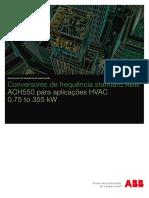 Catálogo ACH550