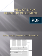Overview of Linux Kernel Development