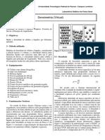 Roteiro Densimetria - Grupo 03