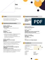 Marketing and Brand Manager Resume Example 1
