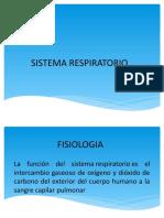 Sistema Respiratorio Sara- Caro