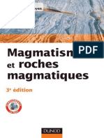 Magmatisme Et Roches Magmatiques, Cours