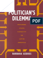 (California Series on Social Choice and Political Economy) Barbara Geddes - Politician's Dilemma_ Building State Capacity in Latin America-University of California Press (1996)
