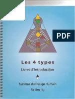 SDH(système du design humain) - 4Types