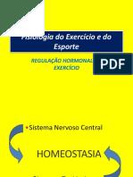 REGULAÇAO HORMONAL NO EXERCICIO