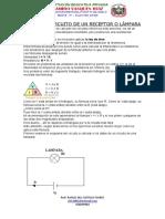 CALCULAR CIRCUITO DE UN RECEPTOR O LÁMPARA 9