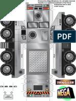 28mm Traveller Sci-Fi ATV Vehicle Miniature