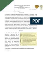 Historia de la Biotecnología.