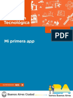 1 Educación Tecnológica. Mi Primera App