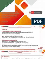 CASUISTICA Y SOLUCIONES A LOS PROBLEMAS REPORTADOS EN LOS SISTEMAS DEL PROGRAMA