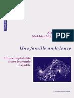 Alain Cottereau & Mokhtar Mohatar Marzok - Une Famille Andalouse. Ethnocompatibilité d'Une Économie Invisible