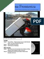 Pluma Fronteriza Fall 2010