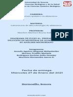 Preparación y dilución de muestras de alimento para su análisis microbiano