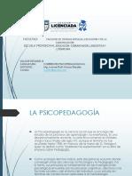 CORRIETES PSICOPEDAGOGICAS