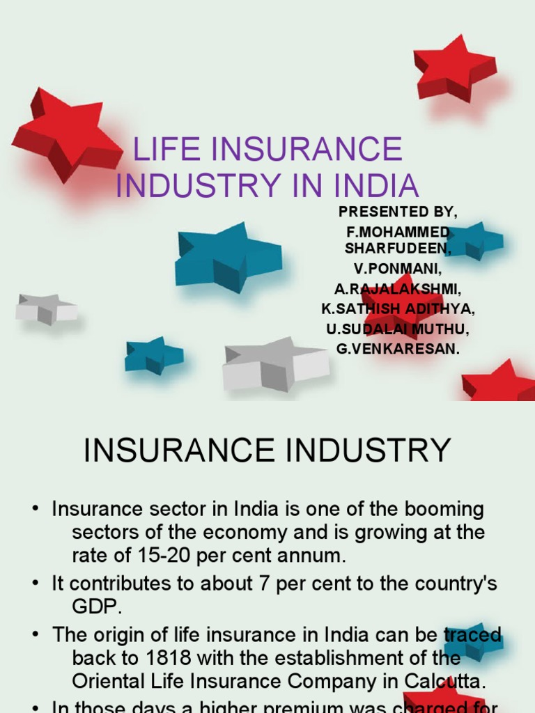 growth of life insurance sector in india