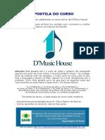 Apostila D'Music House