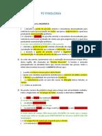P2 FISIOLOGIA
