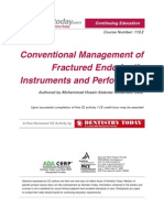 Conventional Management of