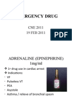 Emergency Drug (Finale)