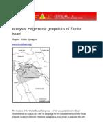 Hegemonic Geopolitics of Israel