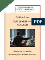 Fall 2011 Civic Leadership Academy Brochure