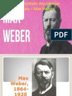 A Objetividade Das Ciências Sociais – Max Weber Aulademetrius