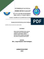 Diseño de Elevador de Cangilones