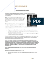 SERVICE QUALITY ASSESSMENT PDF