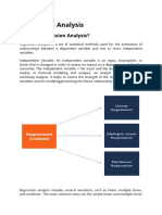 Regression Analysis(1722021)