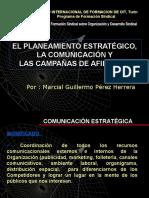 Comunicación y Campañas de afiliación- Guillermo Pérez
