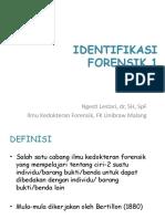 (Upgraded) IKF3 - Identifikasi Forensik 1 FK UB 2015