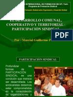 Desarrollo Comunal y Cooperativo- Guillermo Pérez