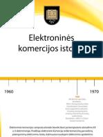 Elektroninės komercijos istorija
