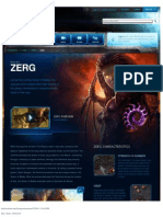 Zerg-Race Descrption - Game - StarCraft II