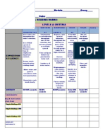 Oral Speaking Rubric 2011