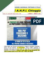notiziario ANPI Chioggia numero 66