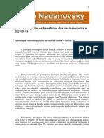 Vacinas - Fiocruz - Paulo Nadanovsky 04-01-2021