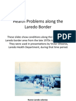 Health Problems Along the Laredo Border