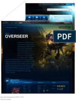 Overseer-Unit Description - Game - StarCraft II
