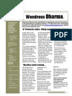 Wondrous Dharma Issue 11 February 2011
