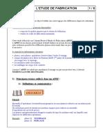 001-P1-P6-Ci 5-Etude de fabrication-Doc-prof-2002