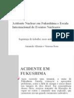 Acidente Nuclear em Fukushima e Escala Internacional de